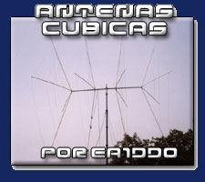 Antena Cúbica, Balun EA1DDO, antenas cubicas, quad antenna, cubical