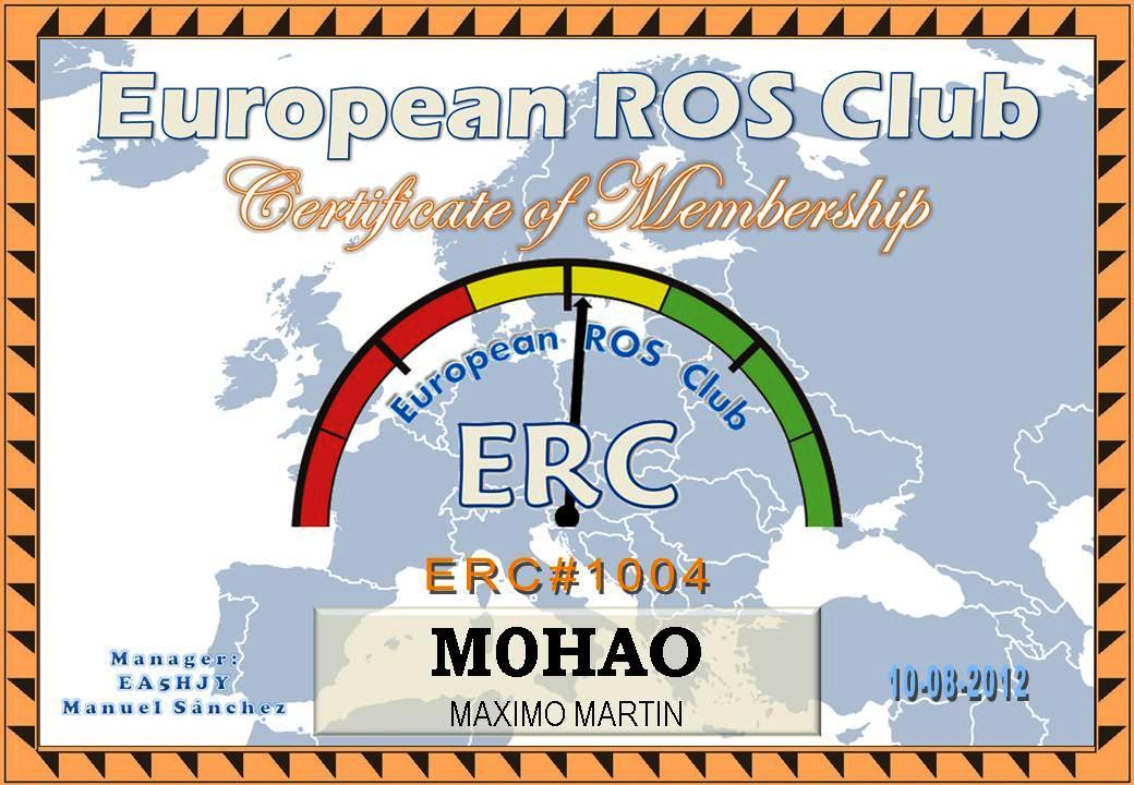 European ROS Club Nº 1004