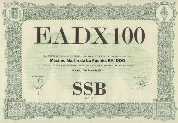 EADX 100 SSB
